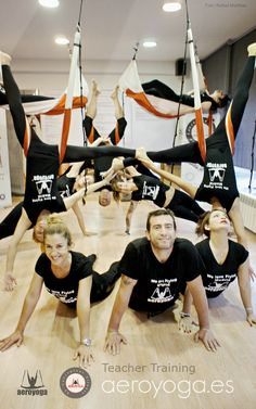 Formacion Profesores Aero Yoga Aéreo