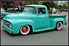 1956 Ford F100 Mint Green