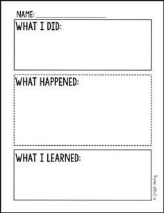 """FREE SCIENCE LESSON - """"Simple Science Experiment Recording Sheet Freebie"""" - Go to The Best of Teacher Entrepreneurs for this and hundreds of free lessons. Elementary Science Experiments, 1st Grade Science, Preschool Science, Science Classroom, Science Fair, Science Lessons, Teaching Science, Science Education, Science For Kids"""