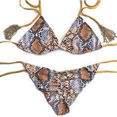 REF: 0015 Golden Snake Oh Lala! Swimsuit