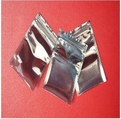 Anti-Static Shielding Bags 8x9cm ESD Anti Static Package Bag Zip Lock Ziplock Waterproof Self Seal Antistatic Storage Pack Bag #Affiliate
