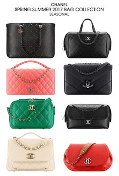 60efb2d26 Chanel Spring Summer 2017 Collection Chanel Mini, Chanel 2017, Chanel  Spring, Summer Bags