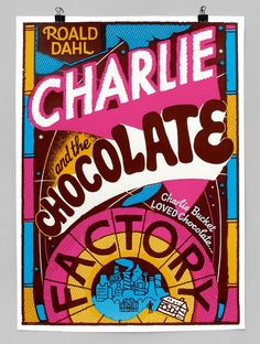 Charlie And The Chocolate Factory. An imagined book cover by Andy Smith Landscape Illustration, Book Illustration, Illustrations, Charlie Chocolate Factory, Book Posters, Royal College Of Art, Willy Wonka, Roald Dahl, Penguin Books