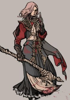Fantasy Character Design, Character Concept, Character Inspiration, Character Art, Bloodborne Art, Bloodborne Outfits, Female Knight, Lady Knight, Sci Fi Anime