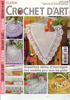 Журнал: Elena Crochet D'Art №33 (вязание салфеток, крючок) - Вяжем сети - ТВОРЧЕСТВО РУК - Каталог статей - ЛИНИИ ЖИЗНИ