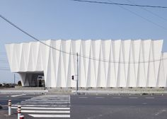 *주름파사드, 아코디언 패턴 파사드 웨딩플라자 [ Hironaka Ogawa ] Pleats.M :: 5osA: [오사]