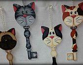 Cat Key ornamnets
