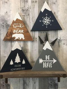 Spring Crafts for Kids – Art and Craft Project Ideas for All Ages Woodland Nursery Decor Rustic Decor Wood Sign Wall Hanging Rustic Nursery Decor, Rustic Decor, Wall Decor, Woodsy Nursery, Woodland Bedroom, Woodland Decor, Rustic Room, Rustic Cottage, Rustic Baby
