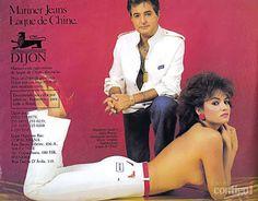 """Você se lembra da moda dos anos 80 do """"Jeans Dijon""""? Os Jeans tinha como garota propaganda da marca Luiza Brunet que revolucionou o merchandising da marca, quem das mulheres da  época já teve um desses?"""