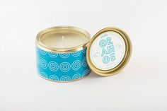 Hand-crafted candles produced in Greece.
