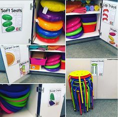 The Mountain Teacher: Partially Flexible Seating