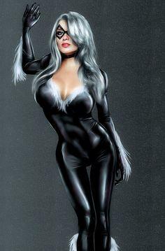 Black Cat 1 by ChillyPlasma.deviantart.com on @deviantART
