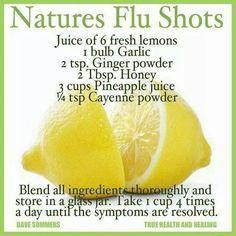 Diy Flu shots