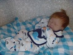 reborn baby doll mix and mach by Tasha Edenholm