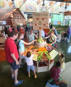 Heifer Village in Little Rock, Arkansas engages the next generation--education is the first step to eliminating worldwide hunger and poverty.