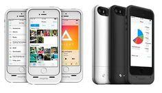 Mophie Space Pack, es una funda para iPhone 5s/5 que integra 16 GB o 32 GB de almacenamiento externo para tu dispositivo y olvidarse de la falta de espacio. Por fin una solución práctica para los usuarios, donde además de ser una carcasa-batería, ya no tendrán que eliminar fotos anteriores para hacer espacio. Búscala! #miguelbaigts