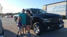 RAYMOND's new 2014 RAM  1500 ! Congratulations and best wishes from Benny Boyd Motor Company - Marble Falls and DEE NIXON.