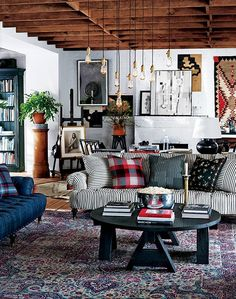 The Ralph Lauren Home showroom displays items from the firm's West Village furnishings collection, which launches this season.