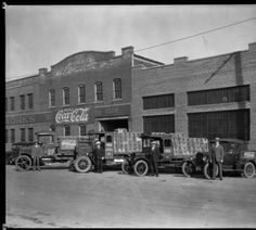 Coca-Cola Bottling Plant 16th & Bank Streets, Louisville, Kentucky, 1928.