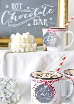 :: throw a hot chocolate & cookie party ::