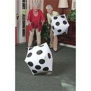 Buy Jumbo Inflatable Dice (pair) at S&S Worldwide Nursing Home Activities, Elderly Activities, Senior Activities, Dementia Activities, Motor Activities, Games For Elderly, Senior Games, Therapy Games, Therapy Activities