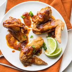 Soy Sauce Chicken Wings Recipe - Todd Porter and Diane Cu | Food & Wine