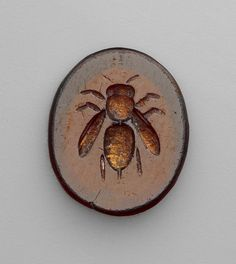 Roman, Carved intaglio gemstone, 1st-3rd century (source).