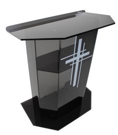 Church Furniture Store - St. Paul Pulpit - Clear or Gray, (http://www.churchfurniturestore.com/st-paul-pulpit-clear-or-gray/)