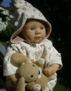 Colette Kleidung Smart Dunkle Corolle Puppe 36 Cm 2003 Babypuppe Doll