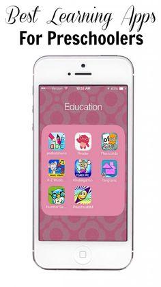 preschool learning apps