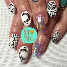 THE GYPSYLAND NAIL for Amanda! #nailswag #nails #nailart #nailartclub #swag #gelnail #LA