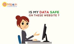 Remove the fear from your customers' mind. Get an SSL certificate today for your website. #HTTPSIN #Data #Safe #Browser #Secure #Website #Shopping #SSL #AdwebTech #Customers #Certificate