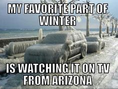 My favorite part of winter. Funny Pictures With Words, Funny Photos, You Drive Me Crazy, Living In Arizona, Weird Gif, I Love Winter, Winter Fun, Winter Time, Make Way