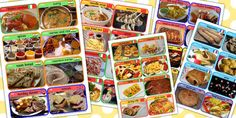 Food from around the World Cards