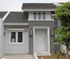 Elegant Minimalist Design Ideas For Tiny Home Decor 18 Minimalist House Design, Minimalist Home, Minimalist Interior, House Paint Exterior, Exterior Design, Type 45, Cluster House, Modern Windows, Home Room Design