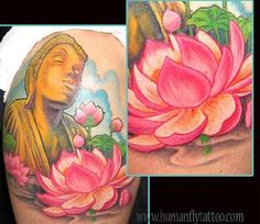 The blue lotus flower refers to the common sense; it uses wisdom and logic to create enlightenment.A purple lotus flower speaks of spirituality and mysticism.