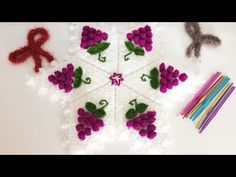 Disposable Face Mask with Earloop, Breathable and Comfortable for Personal Care Protection Masks) Crochet Doilies, Crochet Flowers, Crochet Flower Tutorial, Unique Crochet, Crochet Videos, Baby Knitting Patterns, Pattern Making, Projects For Kids, Crochet Designs