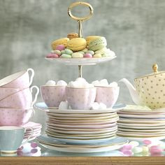 wedgwood lifestyle harlequin polka dot tea story table 81 Perfect Tea Party Crockery from Wedgewood