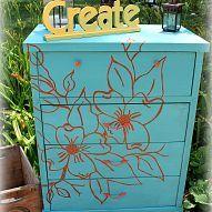 Cool floral dresser