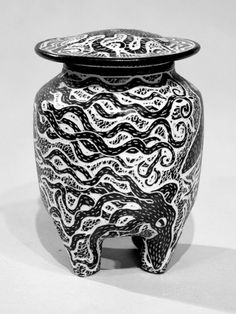 Octopod Jar by ChristiansenPorcelain