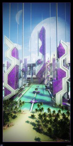 Где-то на просторах Vertical Galaxy находится межгалактический, райский уголок - V-Paradise, на котором мечтает побывать каждый житель вселенной.