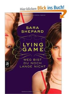 LYING GAME by Sara Shepard #bookcover  #bookcoverdesign
