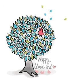 Bon Weekend, Happy Weekend, Bon Week End Image, Image Fb, Weekend Images, Sign O' The Times, Agenda Planner, My Wish For You, Funny Illustration