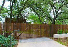 Austin Texas Bamboo Entry Gate