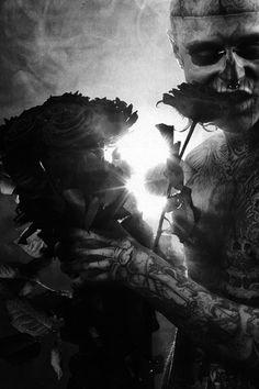 Rick Genest Appreciation Rick Genest, Le Freak, Dark Love, Dream Boy, Cover Tattoo, Canadian Artists, Gay Art, Art Photography, Tumblr