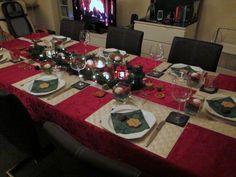 Gänseessen 2012, Table deko, christmas