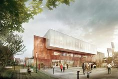 designed by Aarhus Arkitekterne. Danish practice aarhus architects has won a competition to design the new Proton Therapy Centre for advanced cancer treatment in Aarhus, Denmark. As...