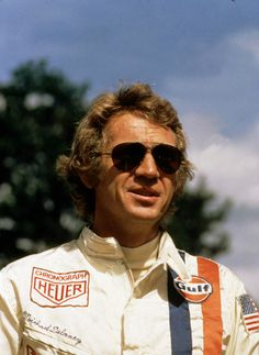 "Steve McQueen as Michael Delaney in ""Le Mans"" 1971 Steeve Mac Queen, Steve Mcqueen Le Mans, Ali Macgraw, Pretty Cars, Its A Mans World, Cinema Movies, Badass Style, Mc Queen, Our Lady"