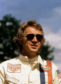 "Steve McQueen as Michael Delaney in ""Le Mans"" 1971"