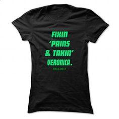 Fixin ... VERONICA - Cool Name Shirt ! - #tshirt pattern #winter hoodie. SIMILAR ITEMS => https://www.sunfrog.com/LifeStyle/Fixin-VERONICA--Cool-Name-Shirt-.html?68278